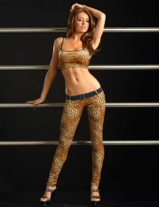 Brown Cheetah Tank Top and Legging
