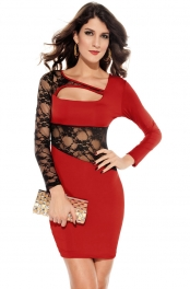 Personalized Sexy Dress Red